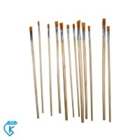 قلم طراحی سری 12 عددی مو نارنجی رزا