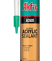 درزگیر اکریلیک سفید آکفیکس Akfix