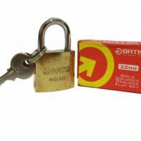 قفل آویز 32 باتیس طلایی