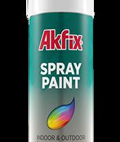 رنگ اسپری سفید براق آکفیکس Akfix