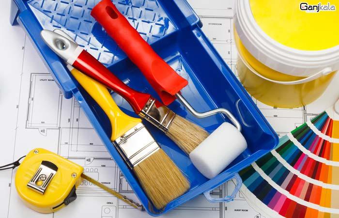 ابزار آلات نقاشی