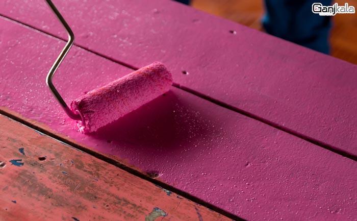 انواع رنگ های سلولزی و چوب