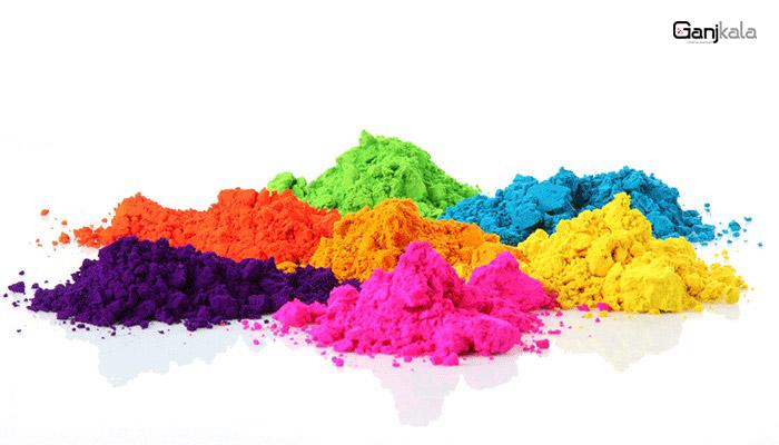 رنگ های پودری