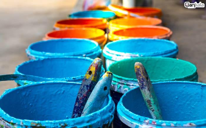 رنگ ساختمانی و رنگ پلاستیک ساختمانی